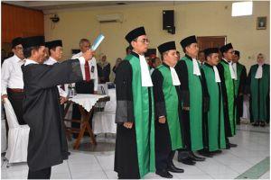 Pelantikan Dan Pengambilan Sumpah Jabatan  Ketua Pengadilan Agama Stabat