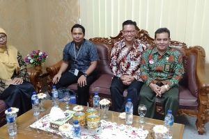 Kunjungan Pimpinan BRI Cabang Stabat