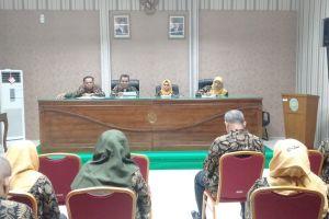 Rapat Evaluasi Kinerja Di Pengadilan Agama Stabat