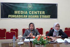 Ketua PA. Stabat Ikuti Focus Group Discussion
