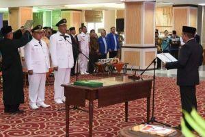 Ketua Pengadilan Agama Stabat Hadiri  Pelantikan Bupati Langkat