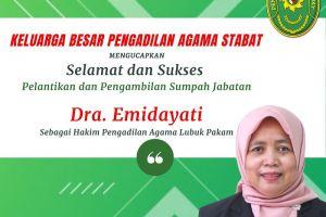 Keluarga Besar PA. Stabat Menghadiri Pelantikan Dra. Emidayati