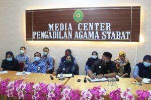 PA Stabat Ikut Rapat Pembangunan Zona Integritas  Bersama PTA Medan