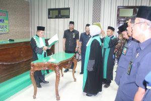Pelantikan Dan Pengambilan Sumpah Jabatan Wakil Ketua Pengadilan Agama Stabat