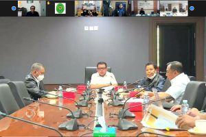 Rapat Koordinasi Pelaksanaan Anggaran Bersama Sekretaris Mahkamah Agung