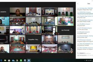 PA Stabat Mengikuti Entry Meeting bersama Sekma