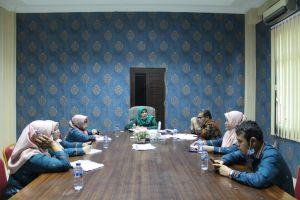 Wakil Ketua Pengadilan Agama Stabat Mengadakan Rapat  Tindak Lanjut Pengawasan